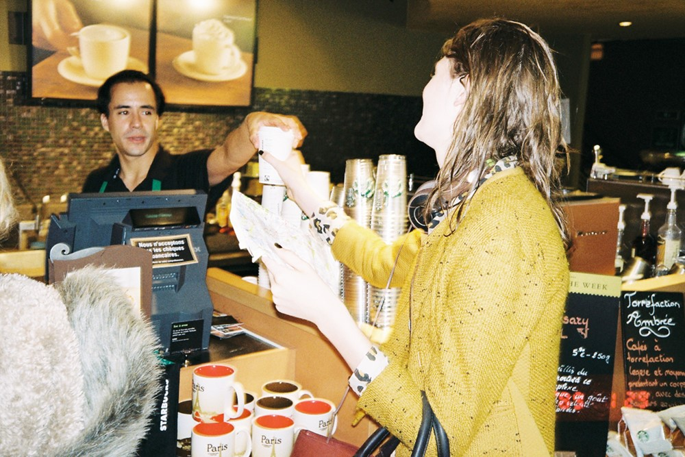 Stop at Starbucks for a chai latte