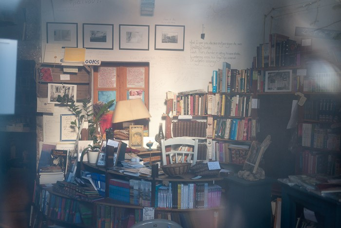 The interior of Atlantis Books. Image courtesy of