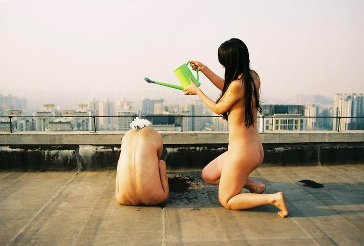Ren Hang's First Shot from December 2012