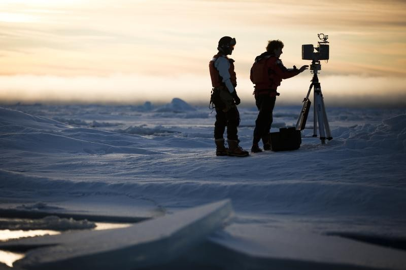 Greenpeace expedition to Arctic Svalbard
