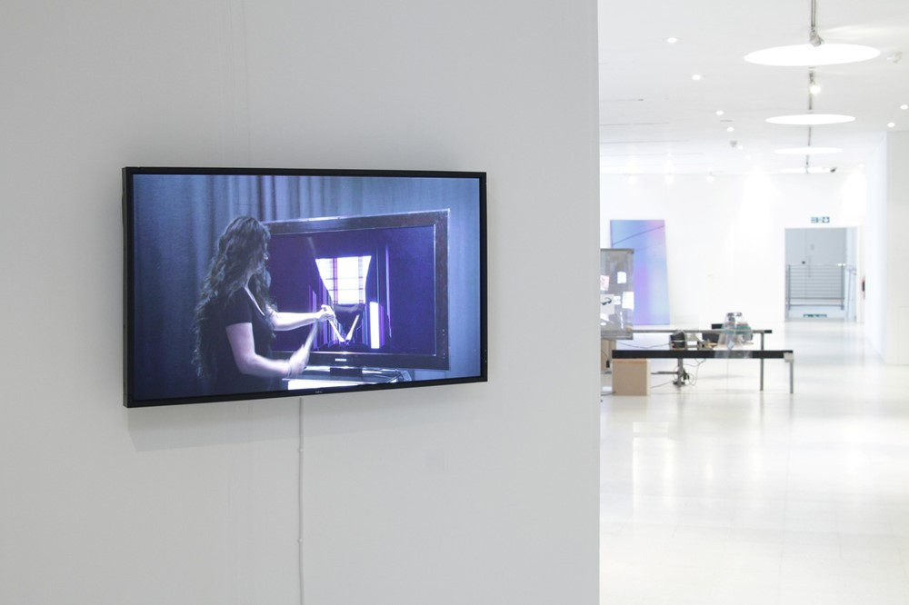 Hito Steyerl, 'Strike' RCA No one lives here