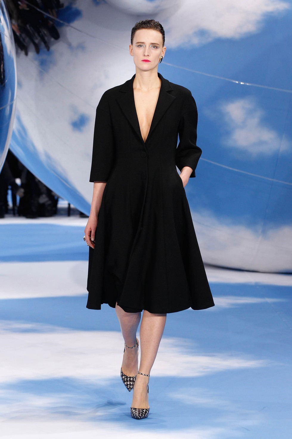 Ann-Catherine Lacroix at Dior
