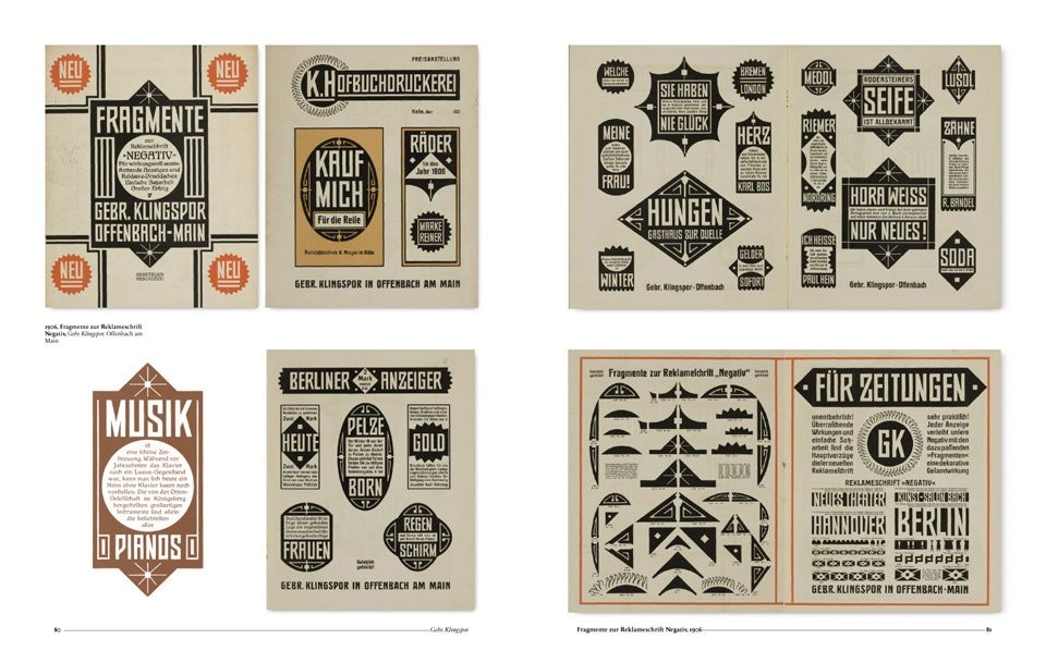A Visual History of Typefaces & Graphic Styles