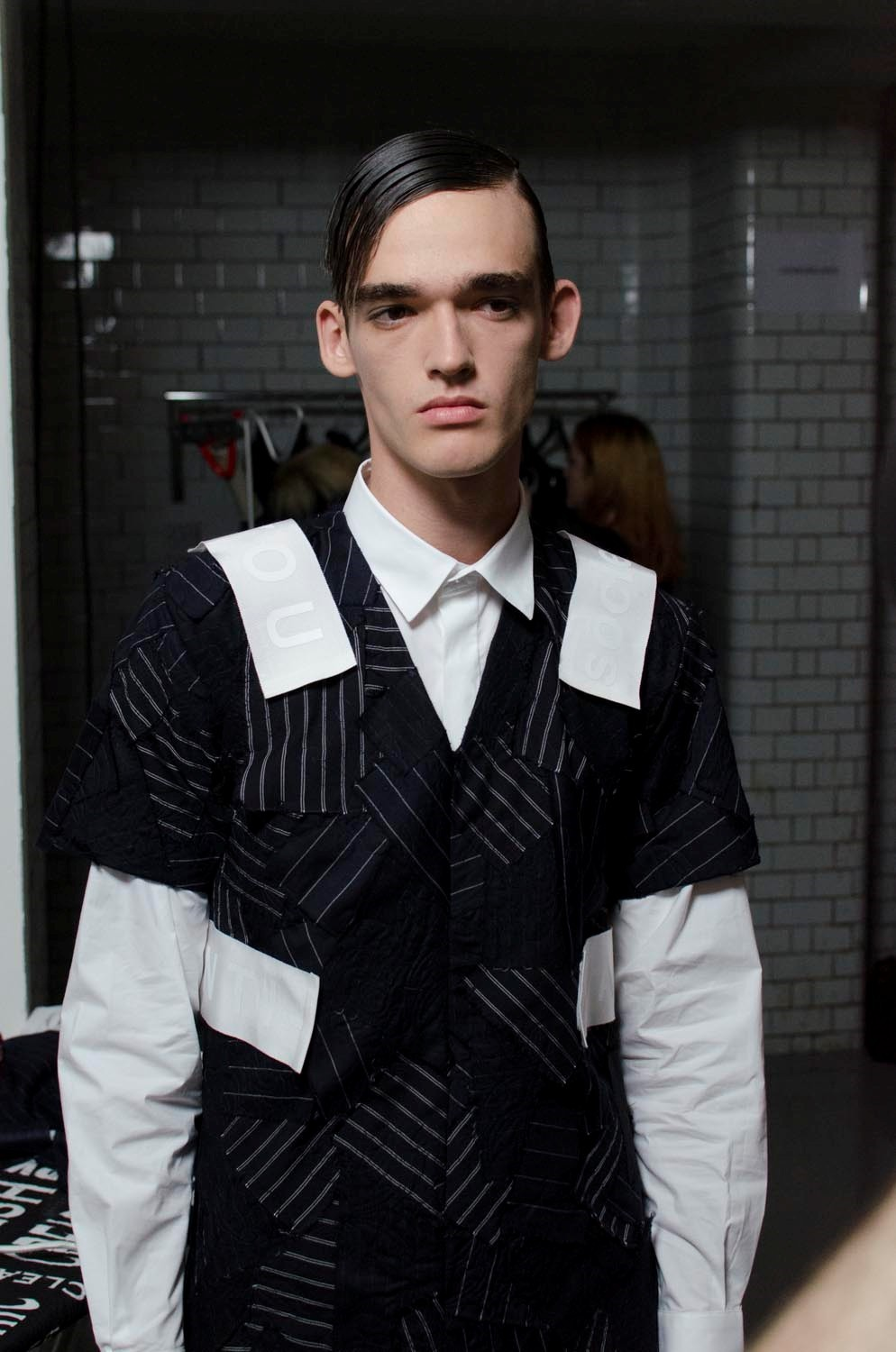 Matthew Miller SS15 Mens collections, Dazed backstage