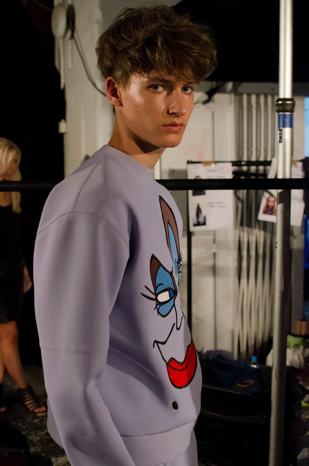Bobby Abley SS15 Mens collections, Dazed backstage