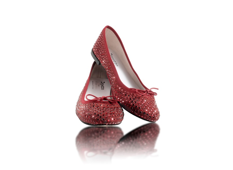 Brigitte Bardot 'Strass Rouge' Repetto shoes avail