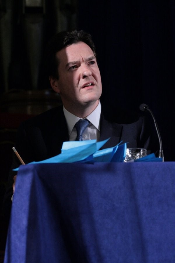 Conservative shadow chancellor of the Exchequer, G
