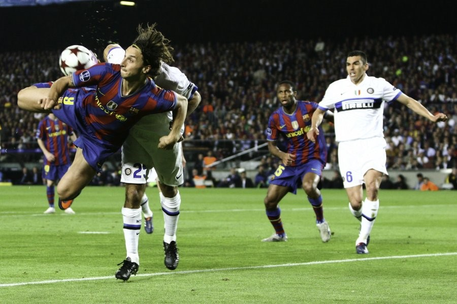 Champions League favourites Barcelona fall at the