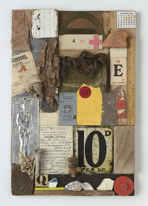 Homage to Kurt Schwitters, 100 Per Pound, Peter Bl