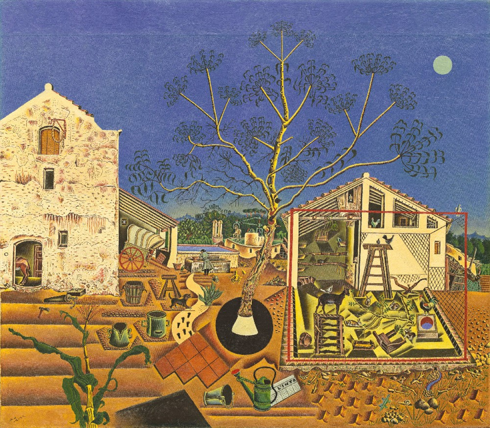The Farm, 1921-2 National Gallery of Art, Washingt