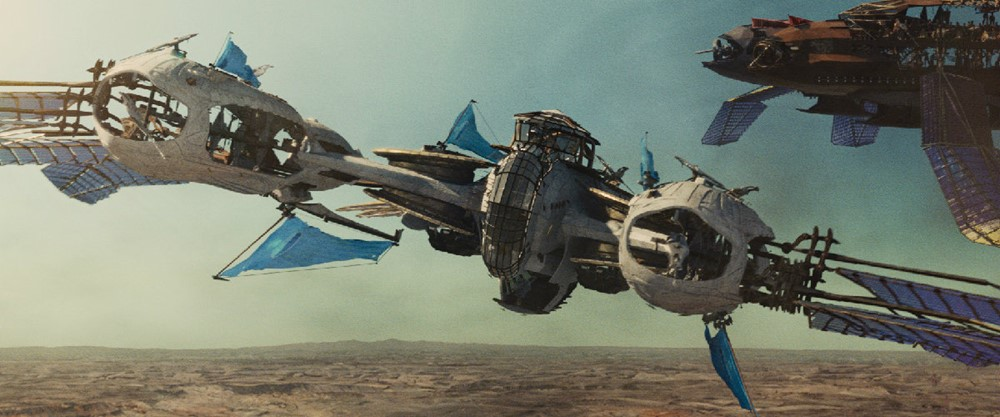 """JOHN CARTER"" Airship ©2011 Disney. JOHN CARTER™ E"