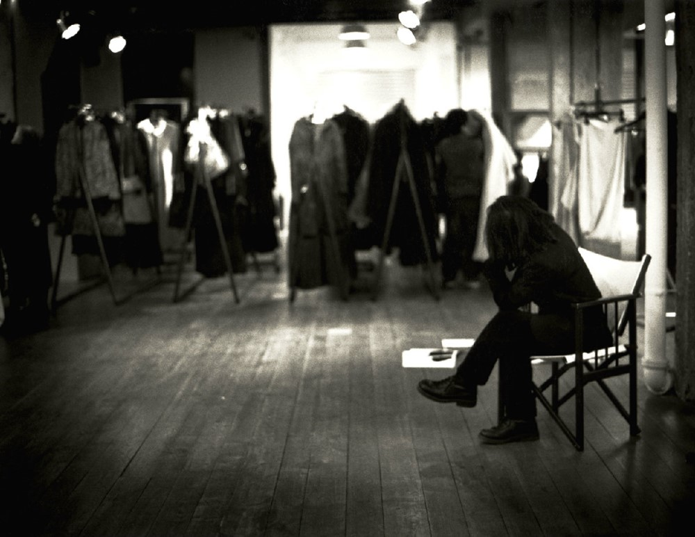 Show preparation. Photography Donata Wenders