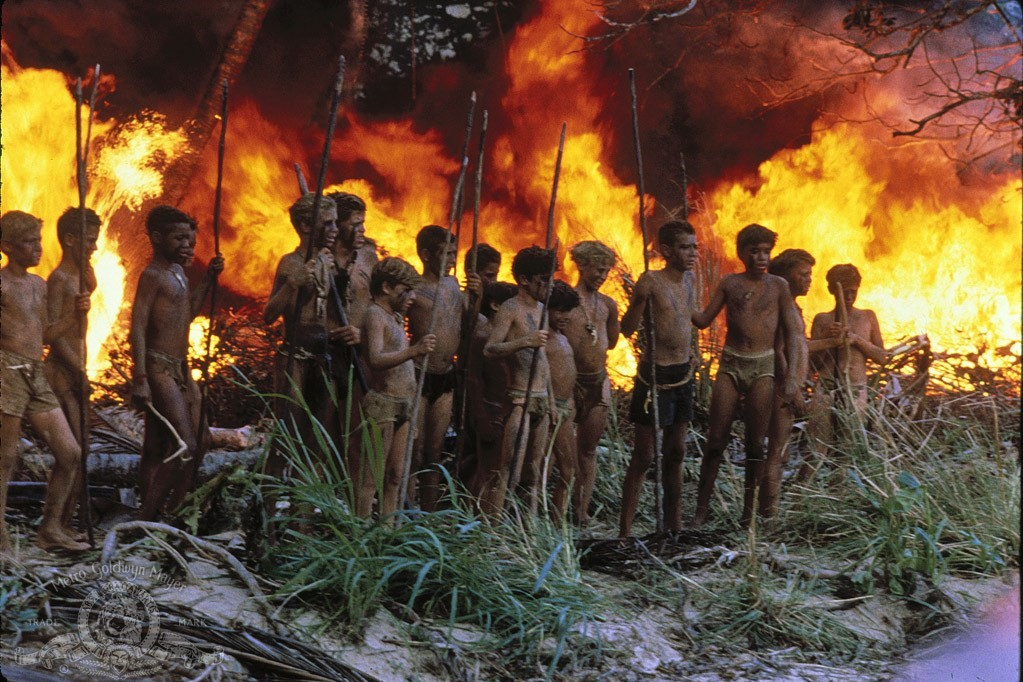 an thesis on civilization vs savagery in goldin s lord of the flies