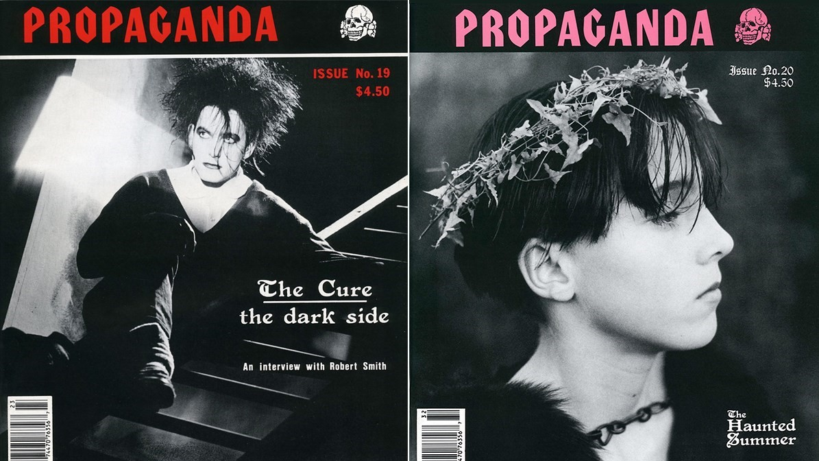 Propaganda cult goth magazine archives