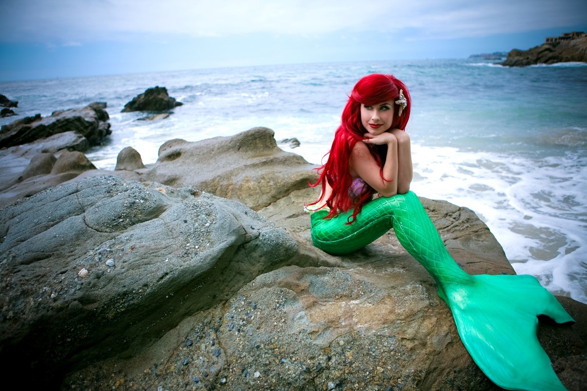 Traci Hines On Becoming A Real World Mermaid Meme Dazed