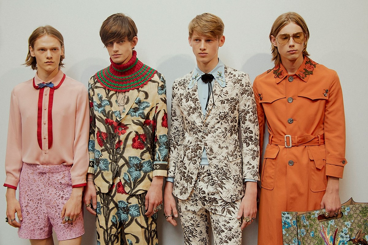 Watch the Gucci men's show live at 11.30am