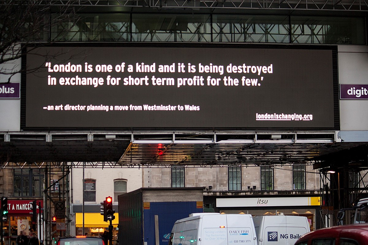 These Billboards Tell The Stories Of London S Housing
