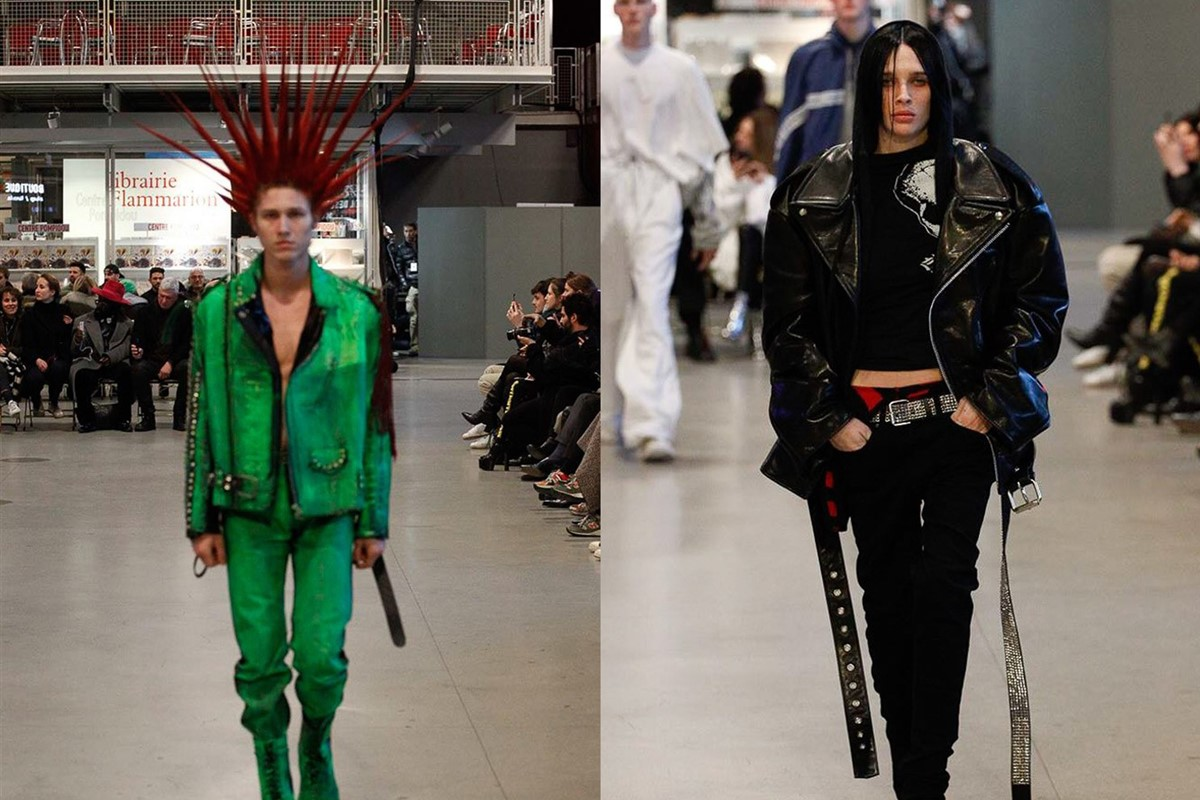 Vetements borrows 'chav', emo and stoner style at Paris ...