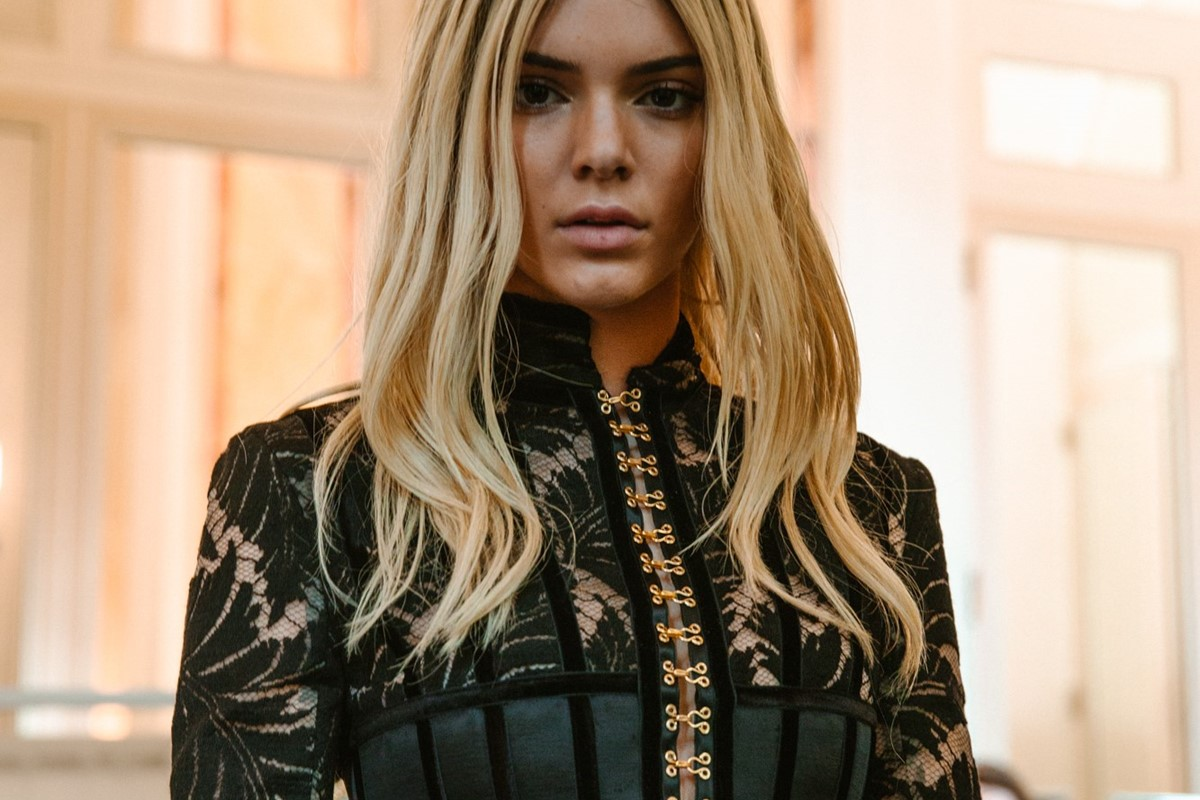 Supermodel hair changes and rococo vibes at Balmain | Dazed