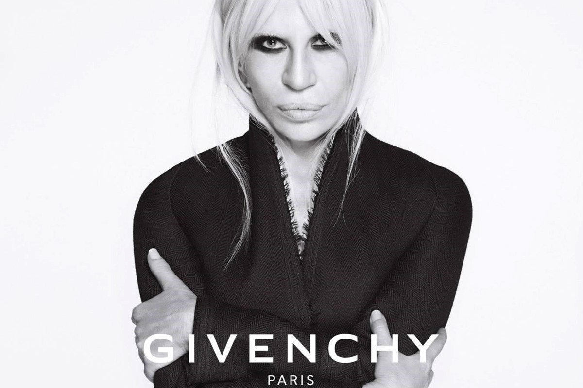 Why Donatella Versace S Campaign For Givenchy Is A Big