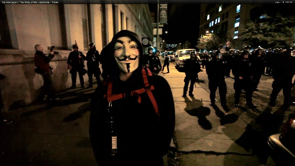 We Are Legion: The Story of Hacktivists