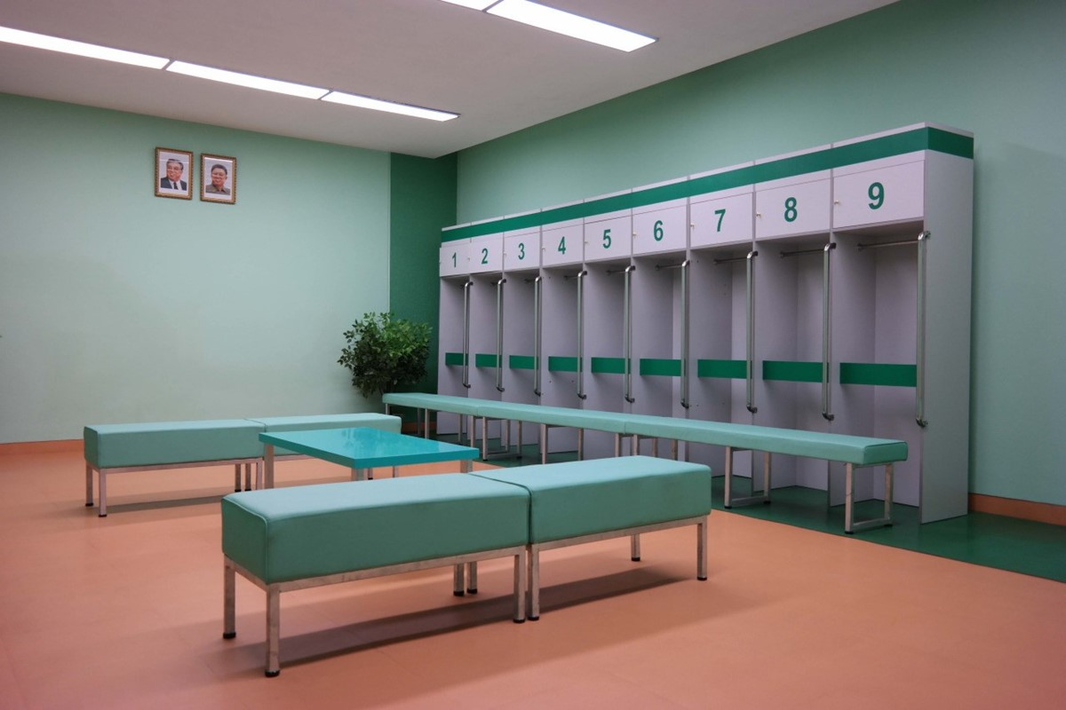 NORTH KOREA GOES WES ANDERSON