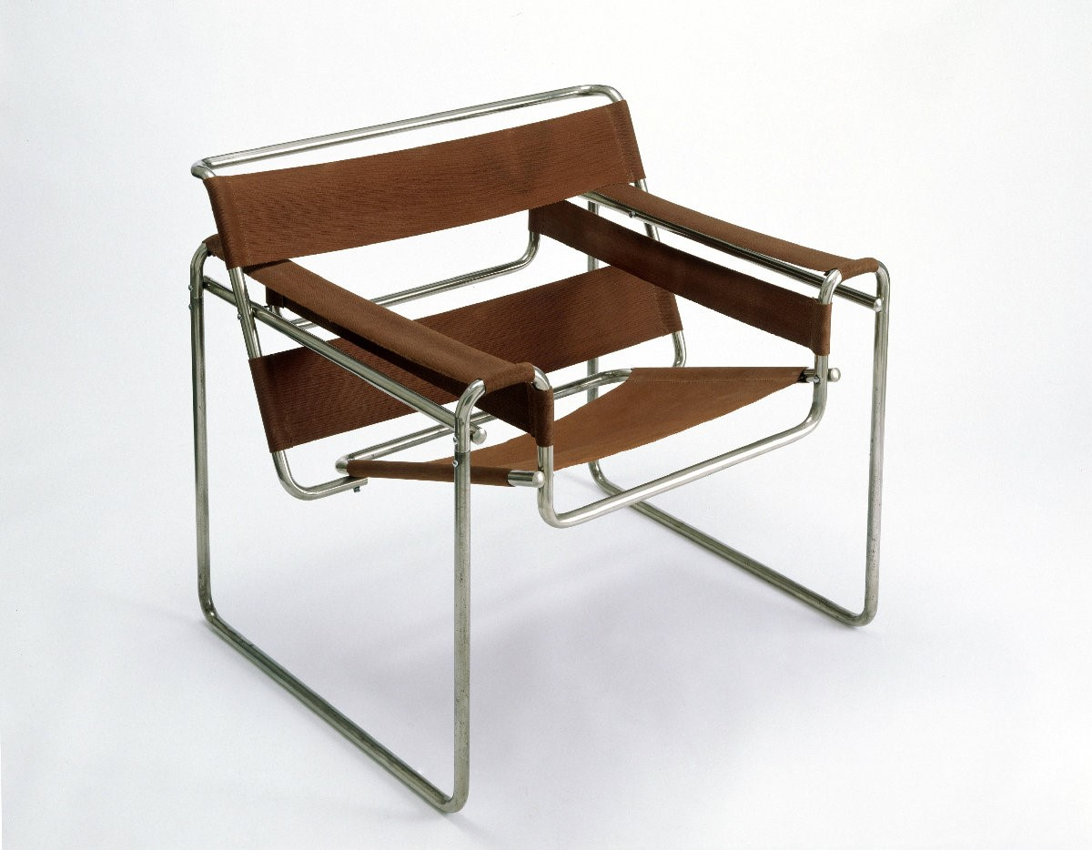 4.  Marcel Breuer,  Club Chair, 1925-26.  Tubular