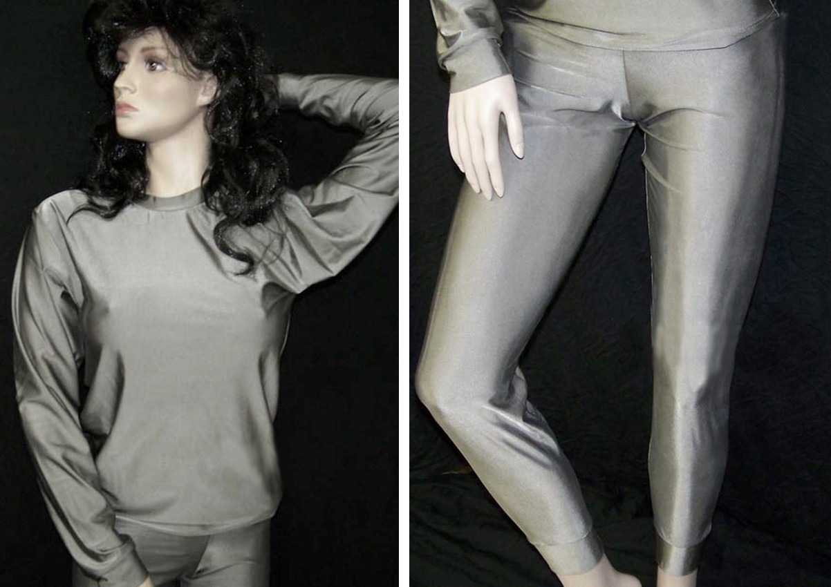 Radiation proof Silver is the new black