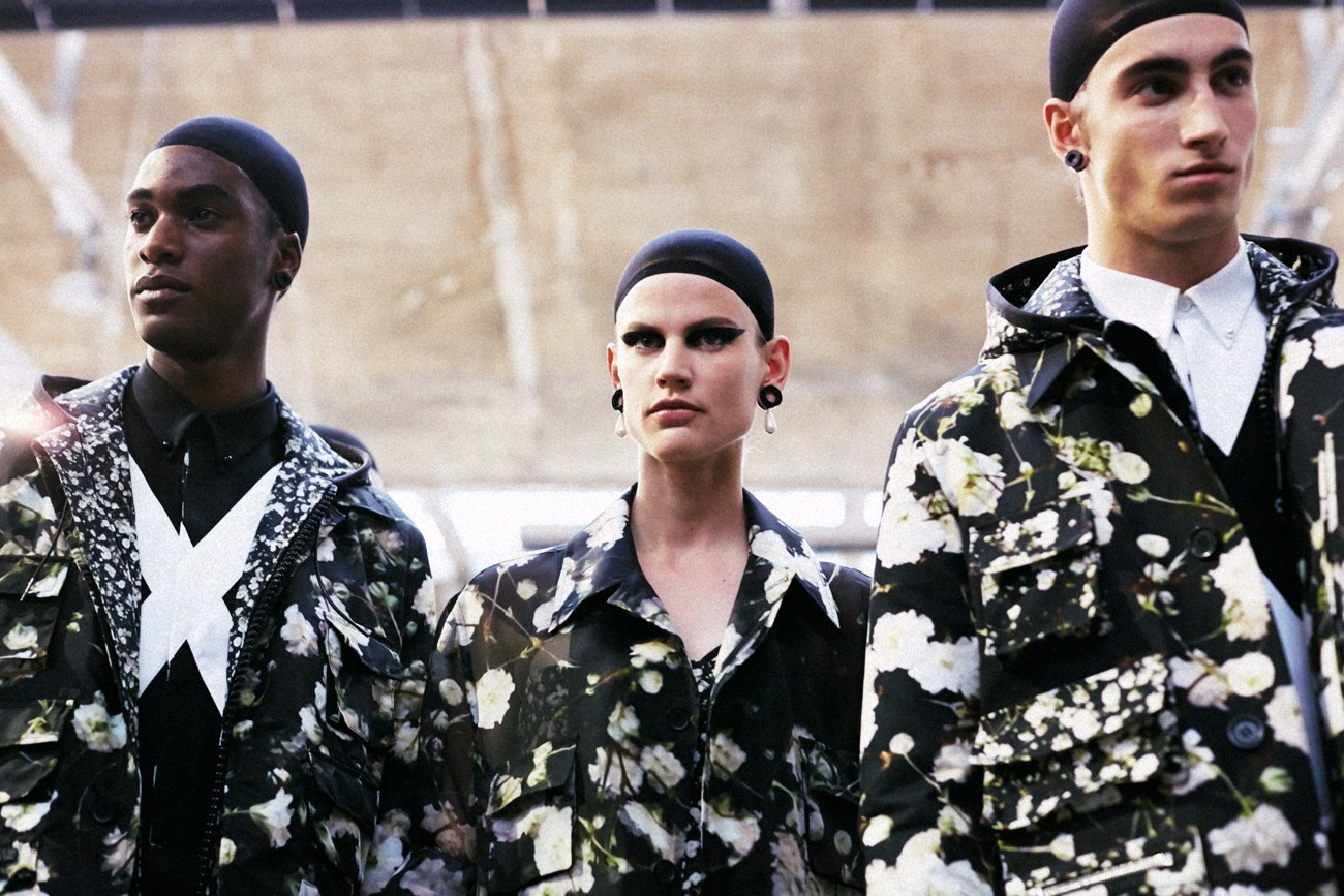Givenchy SS15 Mens collections, Dazed backstage