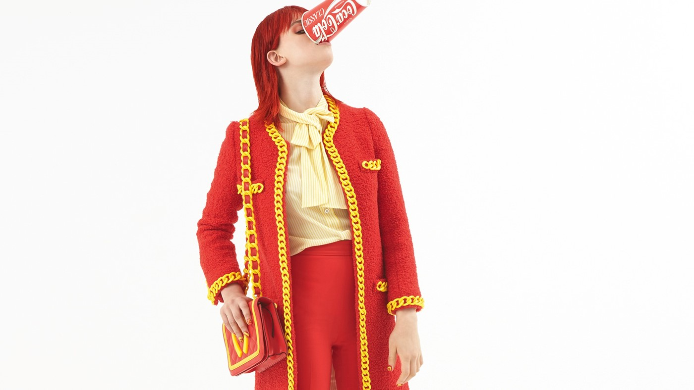 Jeremy Scott Moschino, Dazed AW14 issue