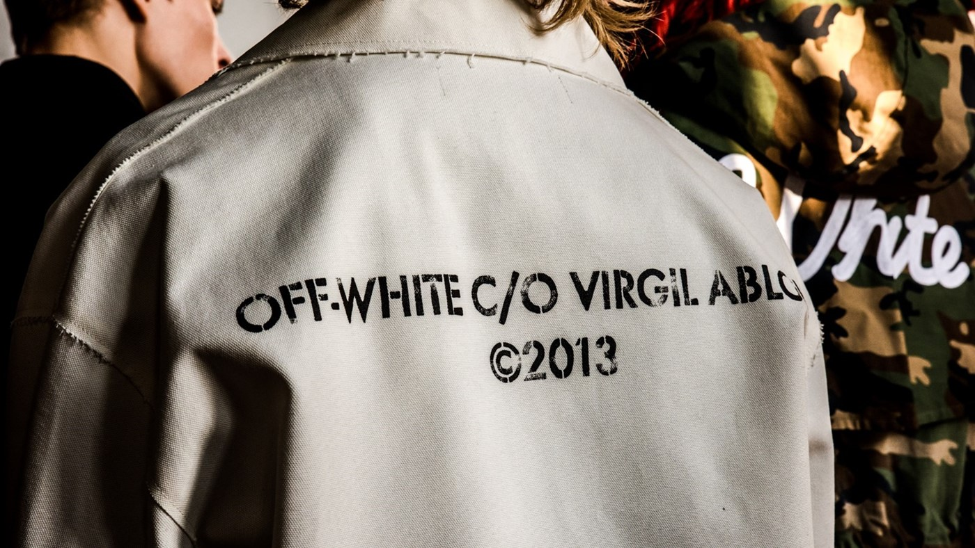 Backstage at Off-White AW16, photography Virginie Khateeb