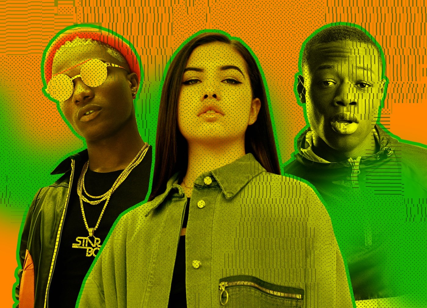 Why African and Caribbean sounds are dominating British music right now