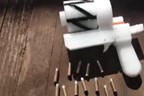 3D printed gun with bullets