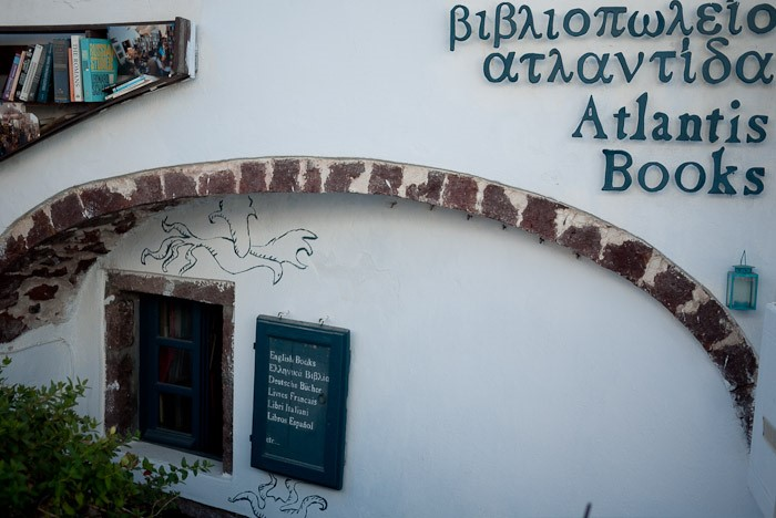 The exterior of Atlantis Books. Image courtesy of