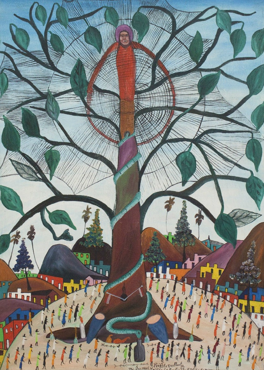 Araignee Spider Tree, by Prefete Duffaut (1951)