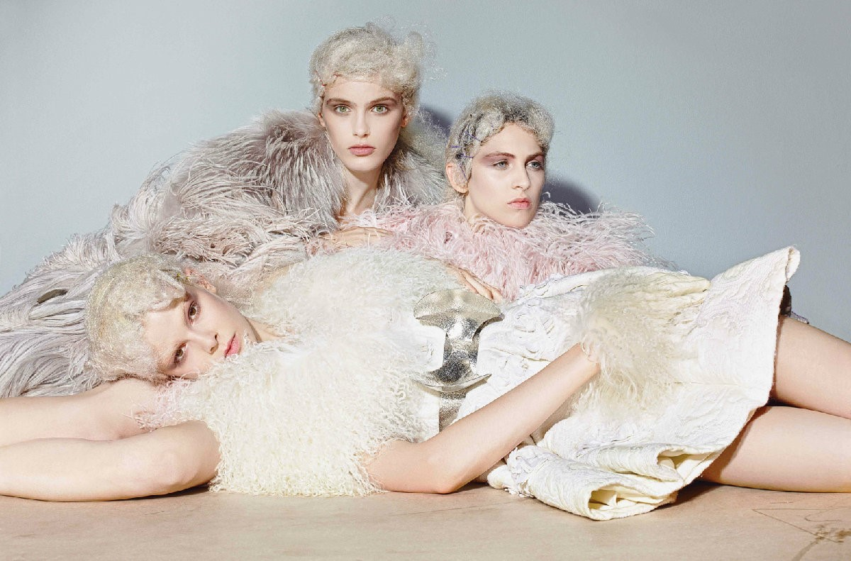 All clothes by Alexander McQueen, Photography Rich