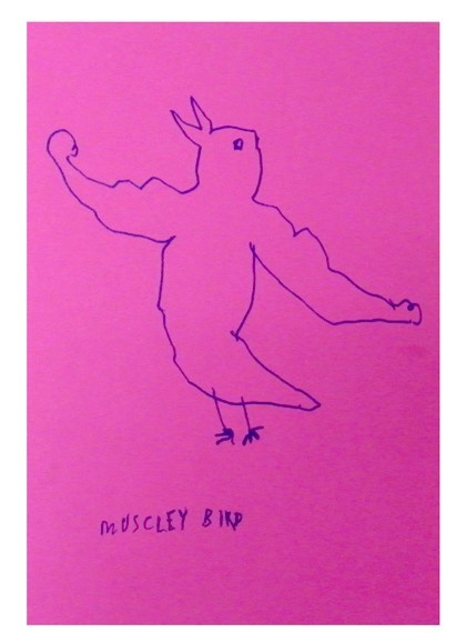 muscley-bird