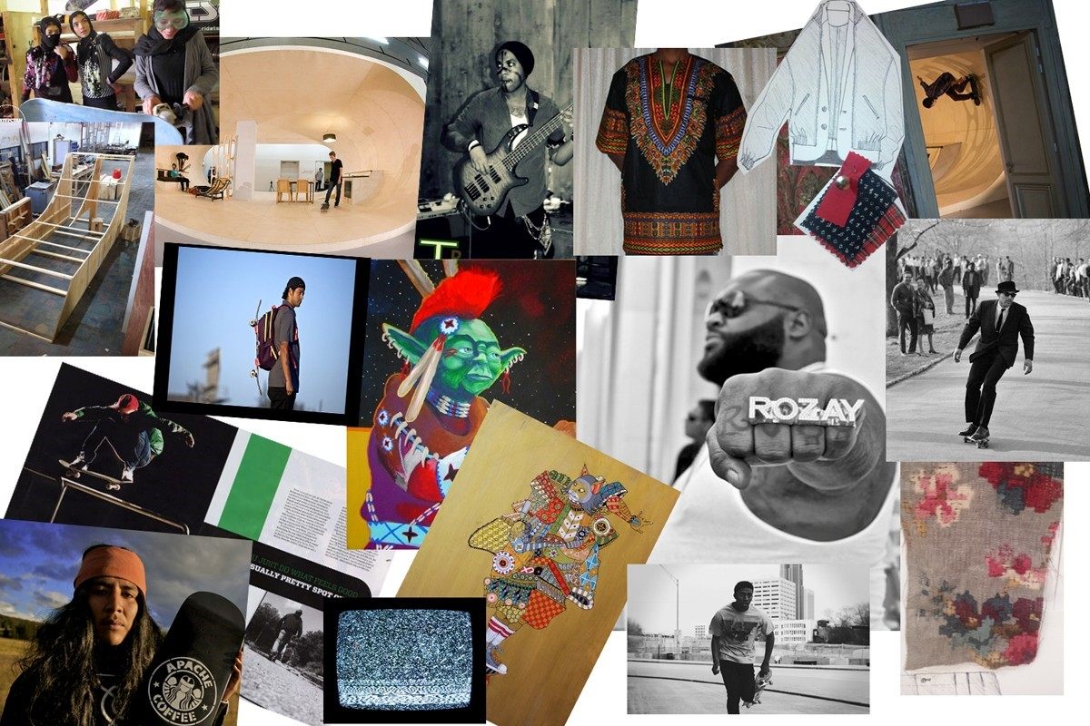 CASELY-HAYFORD SS14 MOODBOARD 1