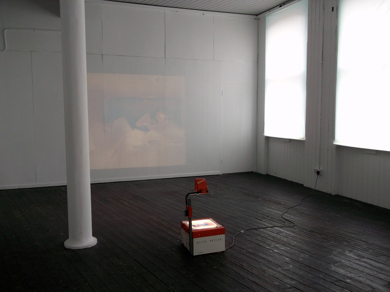 Circumspect, installation view, Pollen Gallery, Be