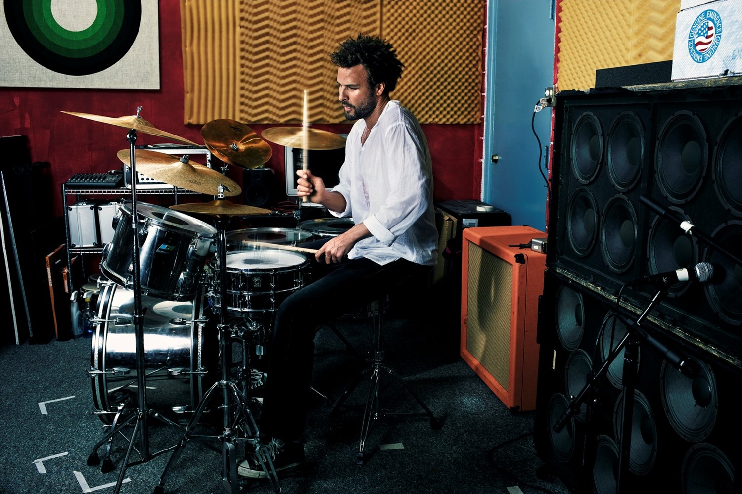 Jon Theodore from Queens of the Stoneage