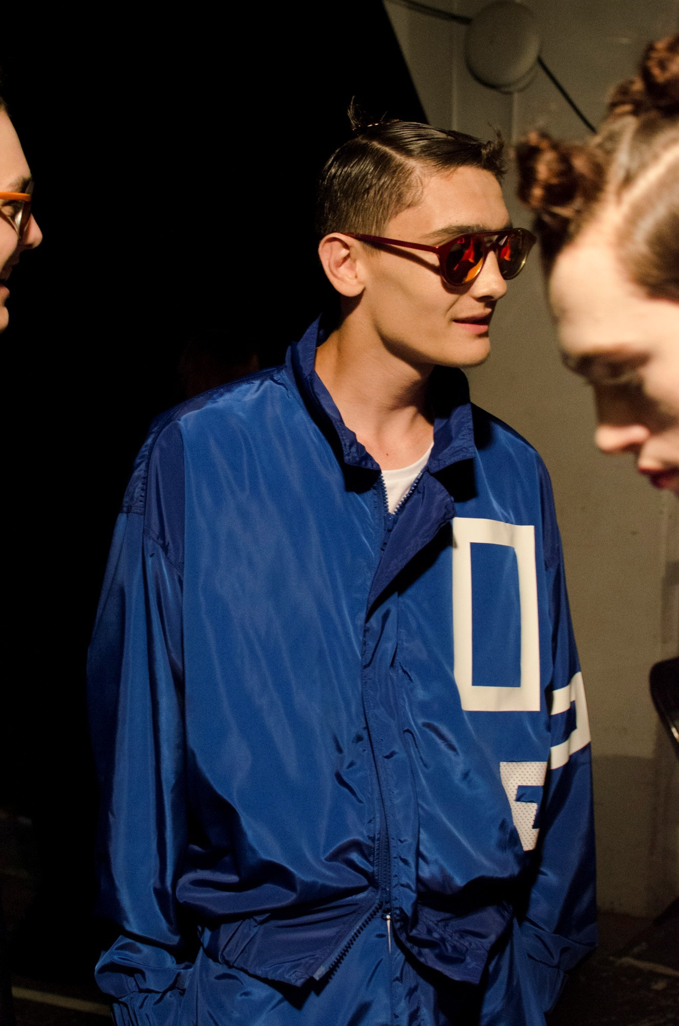 Christopher Shannon SS15 Mens collections, Dazed backstage