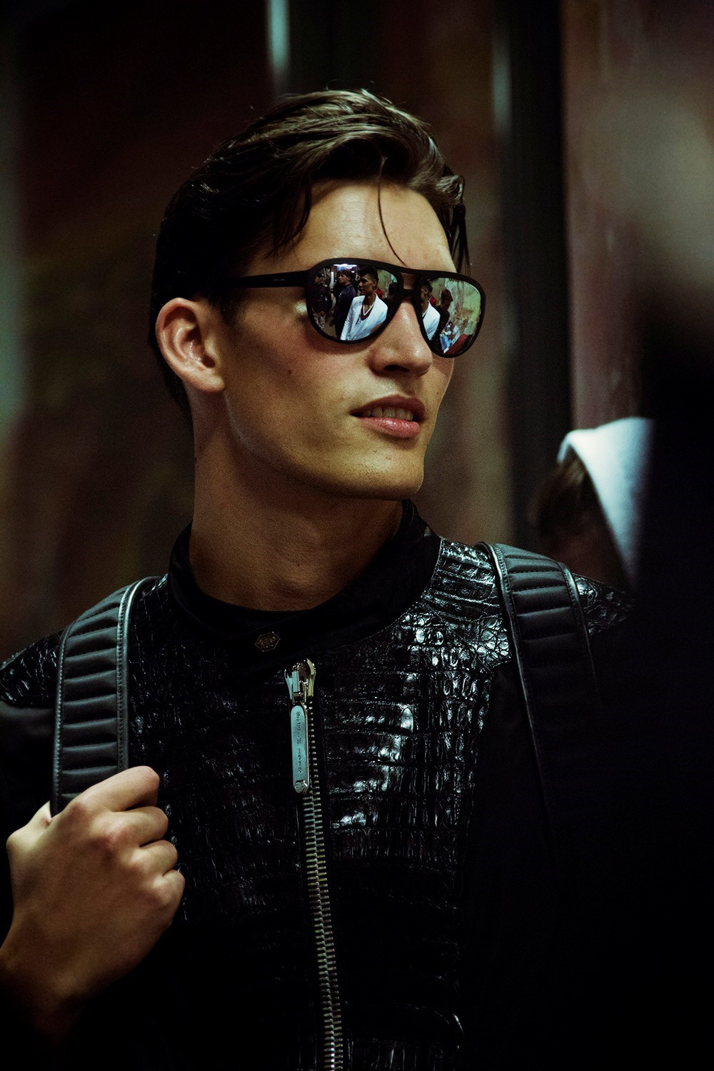 Philipp Plein SS15 Mens collections, Dazed backstage