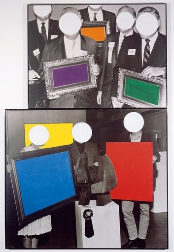 Frames And Ribbon, 1988, courtesy of Simon Lee Gal