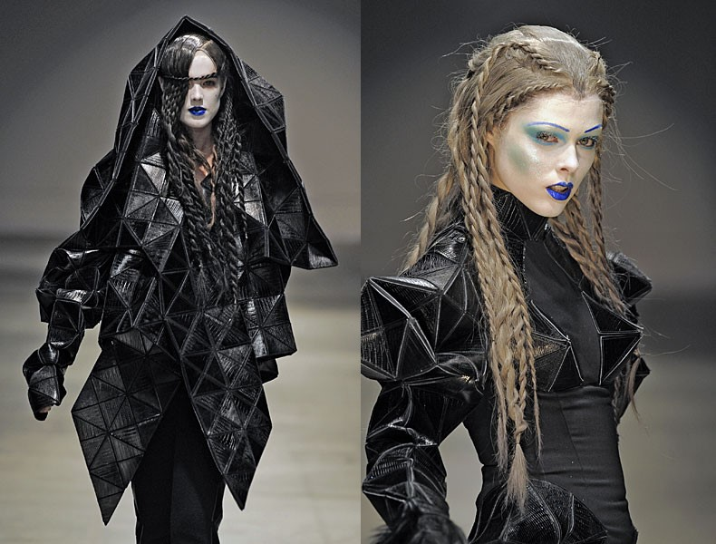 Gareth Pugh AW08-9 collection.