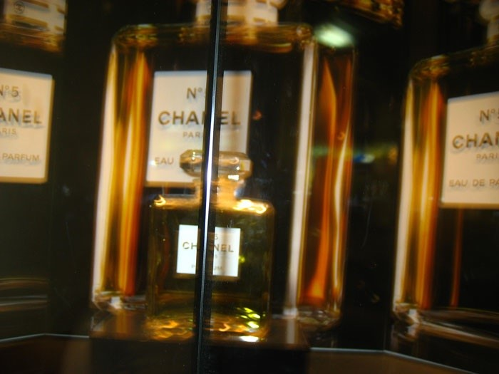 Chanel window on a ferry from Quentin The Teenager