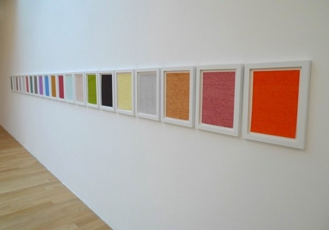 Martin Creed Down Over Up at The Fruitmarket Galle