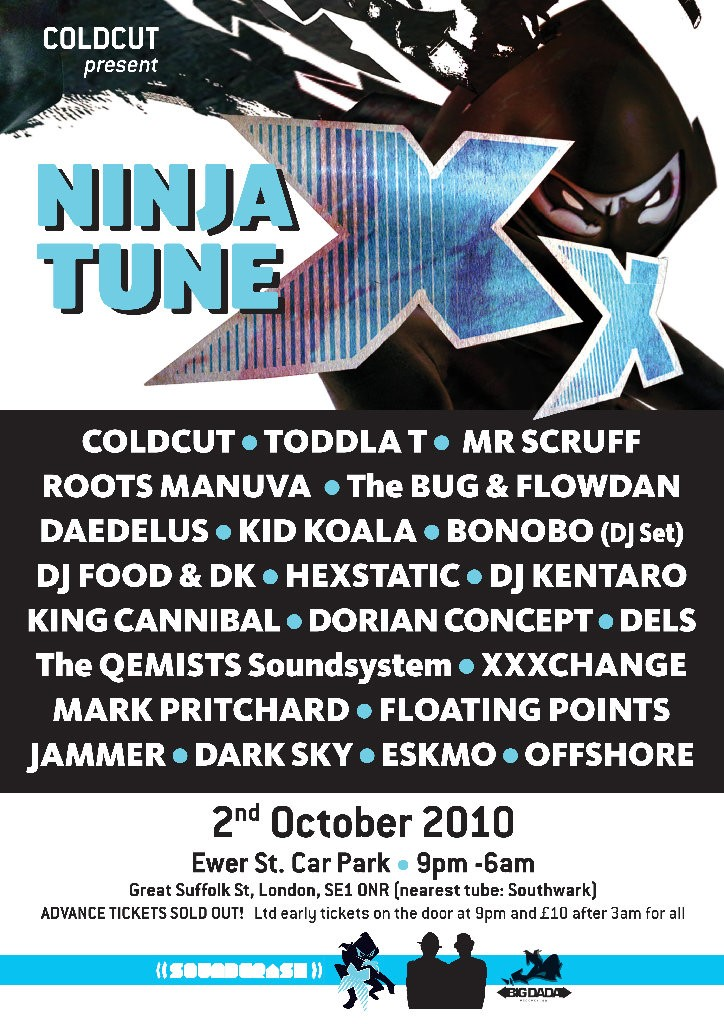 Ninja Tune XX London