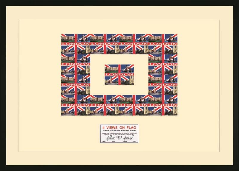 Gilbert & George - 4 Views on Flag 2009