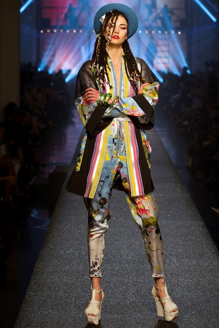 Karlie Kloss as Boy George, Jean Paul Gaultier Wom