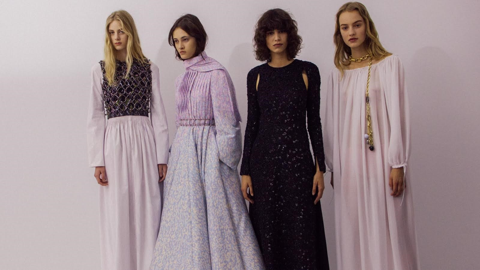 Backstage at Christian Dior Haute Couture AW15